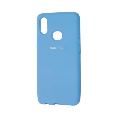 Чехол для Samsung Galaxy A10s (A107) Silicone Full-Blue Cobalt