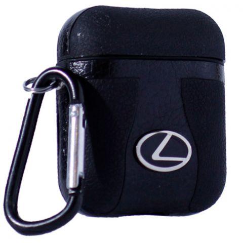 Кожаный чехол для AirPods Car Logo Lexus