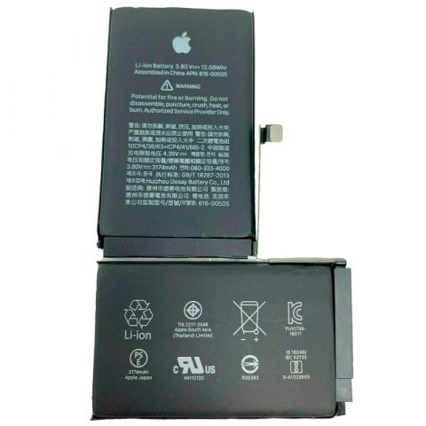 Аккумулятор для iPhone XS Max (3174mAh) Оригинал