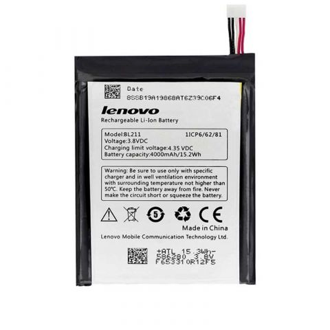 Аккумулятор Lenovo P780 / BL211 (4000mAh)