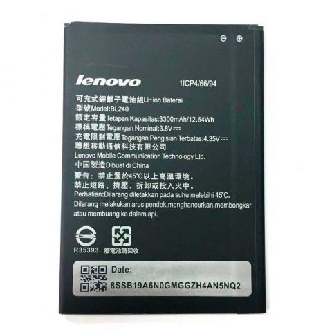Аккумулятор Lenovo A936 / BL240 (3300mAh)
