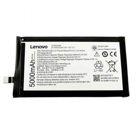 Аккумулятор Lenovo Vibe P1, Vibe P1m, Vibe P1 Pro / BL244 (5000mAh)