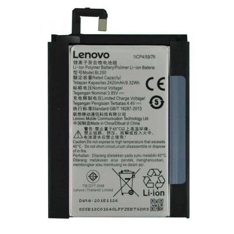 Аккумулятор Lenovo Vibe S1 / BL250 (2500mAh)