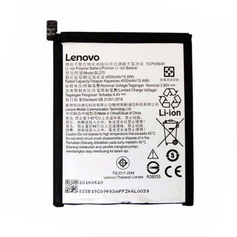 Аккумулятор Lenovo K6 Note / BL270 (4000mAh)
