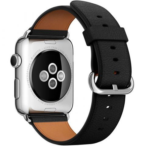Ремешок для Apple Watch 38mm/40mm Classic Buckle-Black