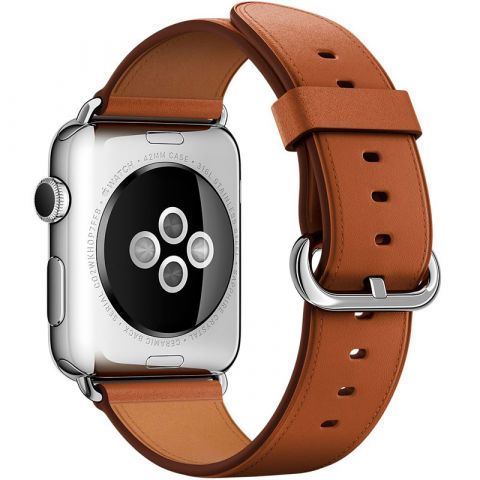 Ремешок для Apple Watch 42mm/44mm Classic Buckle-Brown
