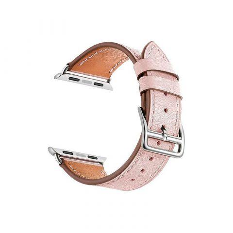 Ремешок для Apple Watch 38mm/40mm Classic Buckle-Pink