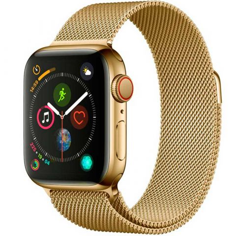 Ремешок для Apple Watch 38mm/40mm Milanese Loop Metal-Light Gold