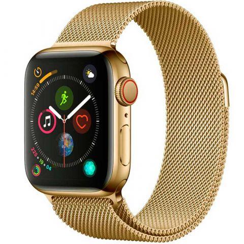Ремешок для Apple Watch 42mm/44mm Milanese Loop Metal-Light Gold