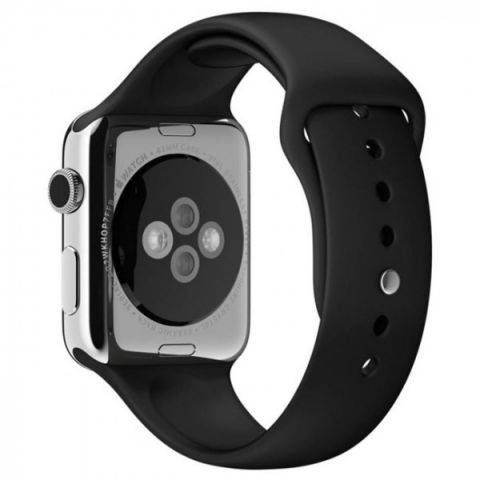 Ремешок для Apple Watch 42mm/44mm Sport Band-Black