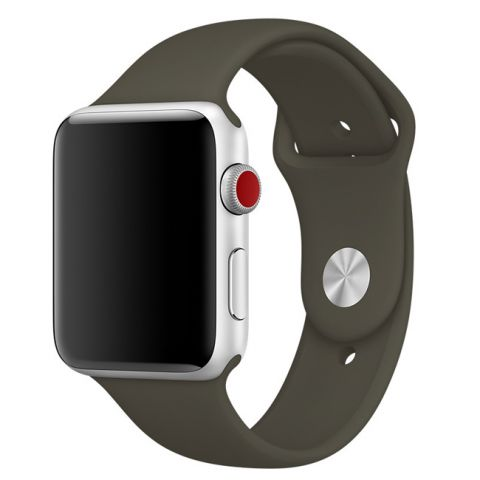 Ремешок для Apple Watch 42mm/44mm Sport Band-Dark Olive