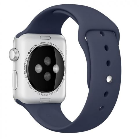Ремешок для Apple Watch 42mm/44mm Sport Band-Midnight Blue