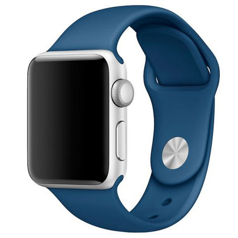 Ремешок для Apple Watch 42mm/44mm Sport Band-Ocean Blue