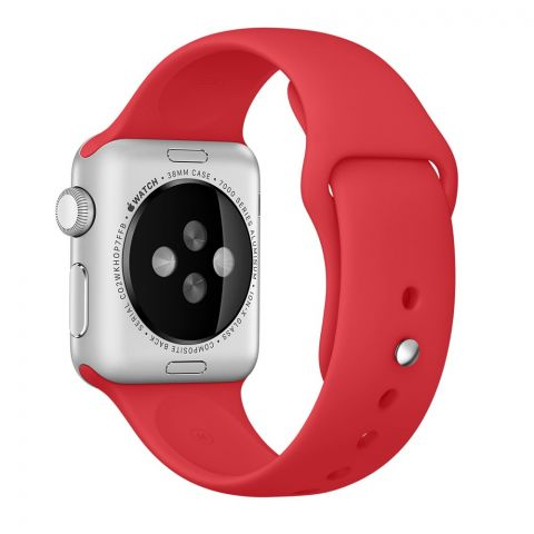 Ремешок для Apple Watch 42mm/44mm Sport Band-Red