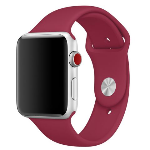 Ремешок для Apple Watch 42mm/44mm Sport Band-Rose Red