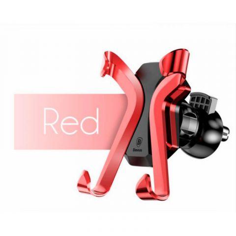 Автомобильный держатель Baseus X Air Vent Car Mount Holder-Red