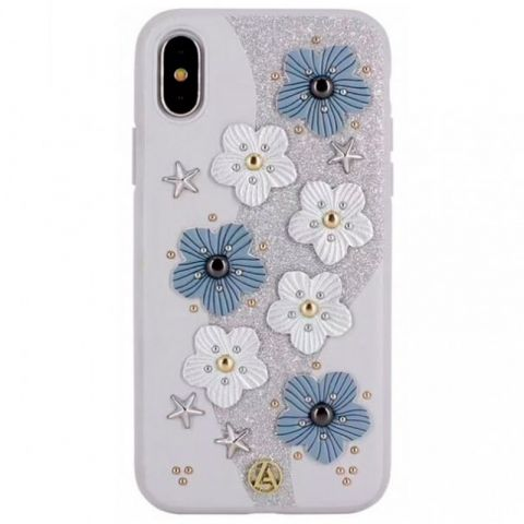 Чехол для iPhone X/XS Luna Aristo Jasmine