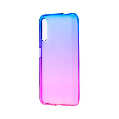 Чехол на Huawei Honor 9X Gradient Design-Pink/Blue