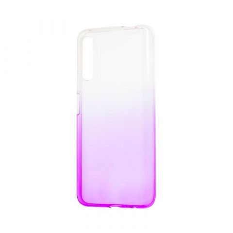 Чехол на Huawei Honor 9X Gradient Design-White/Violet