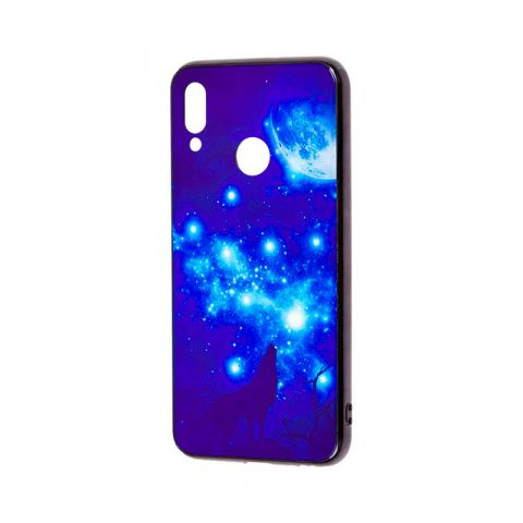 Чехол на Huawei P Smart 2019 Fantasy лунная ночь
