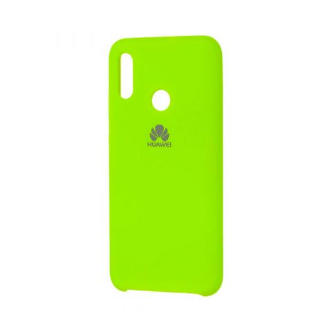 Чехол на Huawei P Smart 2019 Soft Touch Silicone Cover-Lime