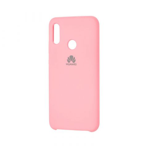 Чехол на Huawei P Smart 2019 Soft Touch Silicone Cover-Light Pink