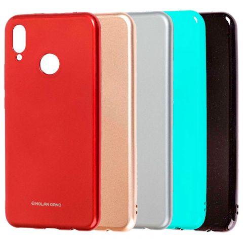 Чехол на Huawei P Smart Plus Molan Cano Jelly глянец