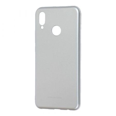 Чехол на Huawei P Smart Plus Molan Cano Jelly глянец-Silver
