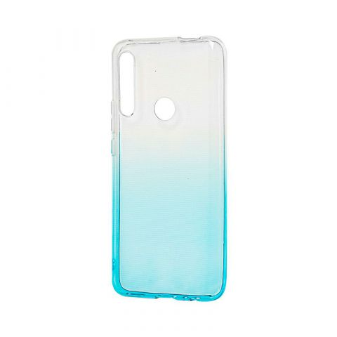 Чехол на Huawei P Smart Z Gradient Design-White/Turquoise