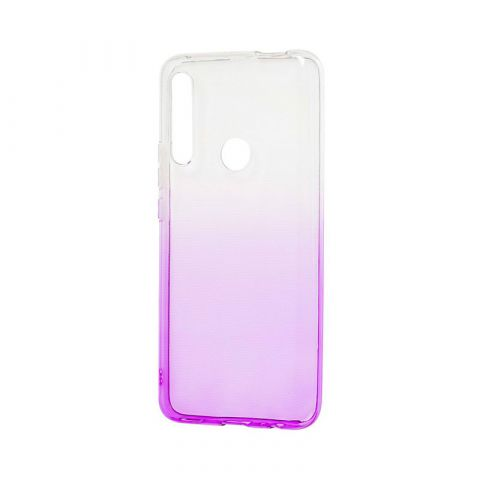 Чехол на Huawei P Smart Z Gradient Design-White/Violet