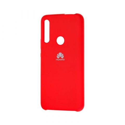 Чехол на Huawei P Smart Z Soft Touch Silicone Cover-Dark Red