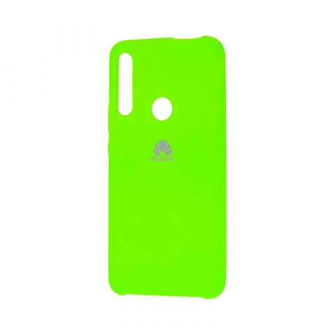 Чехол на Huawei P Smart Z Soft Touch Silicone Cover-Lime