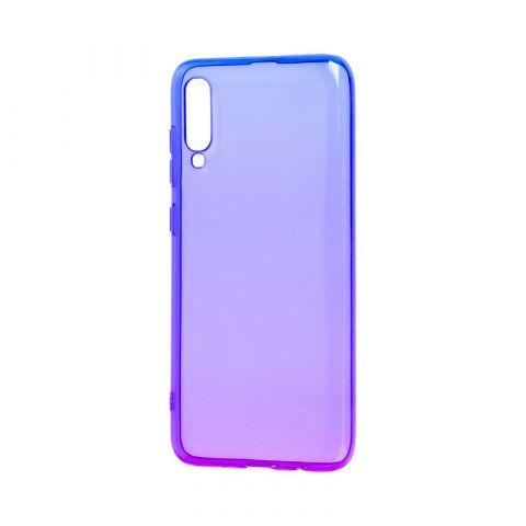 Силиконовый чехол на Huawei P30 Gradient Design-Violet/Blue