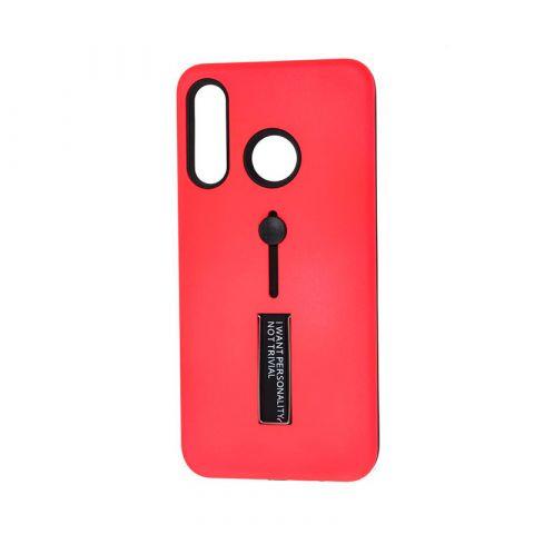 Чехол на Huawei P30 Lite Kickstand-Red Raspberry