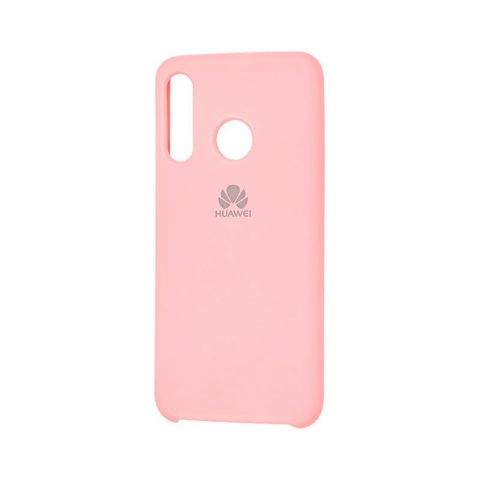 Чехол на Huawei P30 Lite Silicone Cover Soft Touch-Light Pink