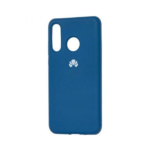 Чехол на Huawei P30 Lite Silicone Full-Blue