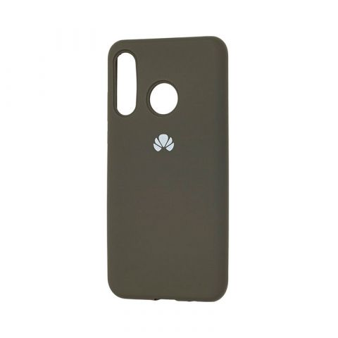 Чехол на Huawei P30 Lite Silicone Full-Dark Olive