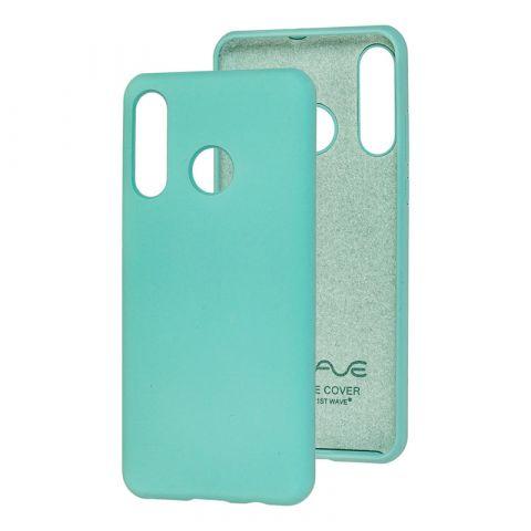 Чехол на Huawei P30 Lite Wave Color Full-Turquoise