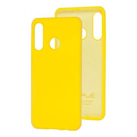 Чехол на Huawei P30 Lite Wave Color Full-Yellow