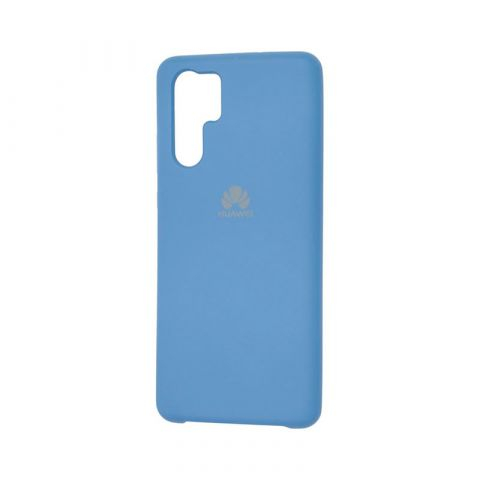 Чехол на Huawei P30 Pro Silicone Cover Soft Touch-Blue Cobalt