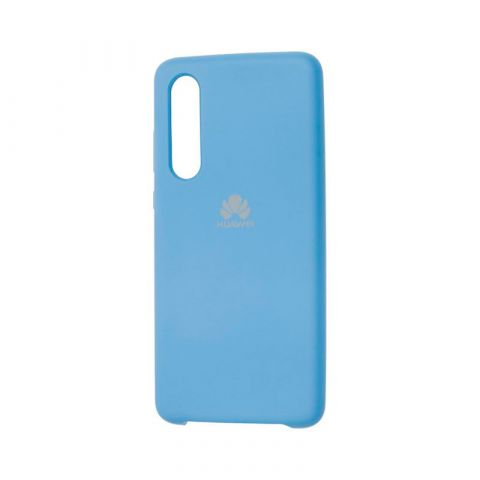 Чехол на Huawei P30 Silicone Cover Soft Touch-Blue Cobalt