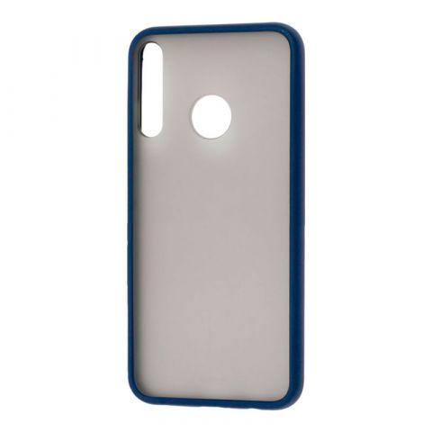 Чехол для Huawei P40 Lite E LikGus Maxshield-Blue