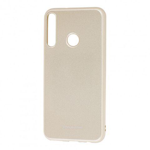 Чехол для Huawei P40 Lite E Molan Cano глянец-Gold