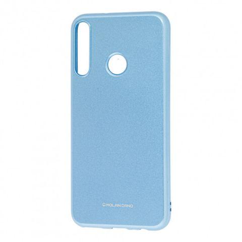 Чехол для Huawei P40 Lite E Molan Cano глянец-Light Blue