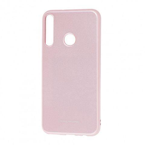Чехол для Huawei P40 Lite E Molan Cano глянец-Rose Gold