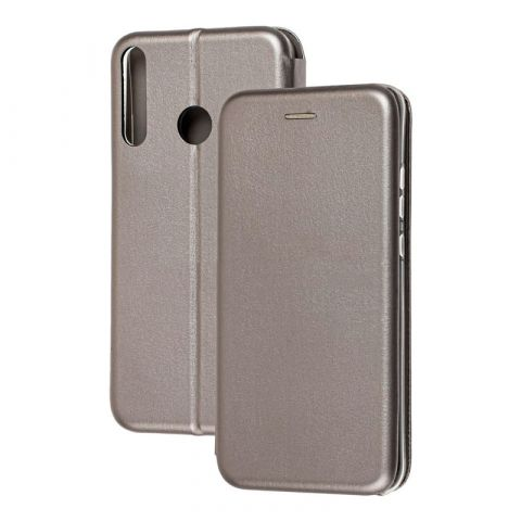 Чехол-книжка для Huawei P40 Lite E Premium-Gray