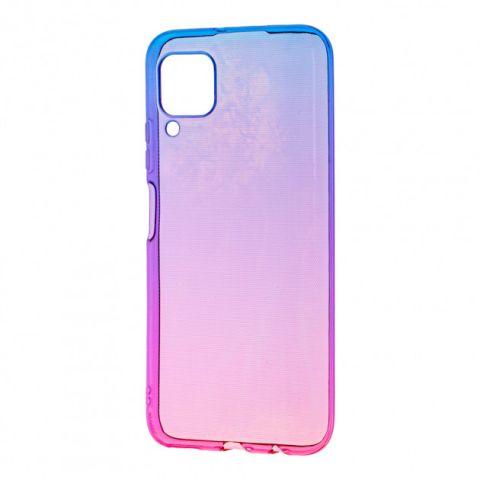 Силиконовый чехол для Huawei P40 Lite Gradient Design-Pink/Blue