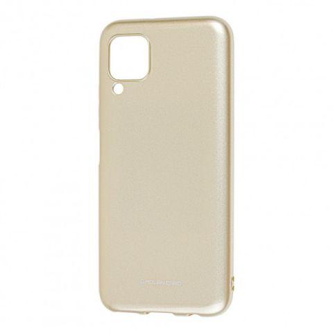 Чехол для Huawei P40 Lite Molan Cano глянец-Gold