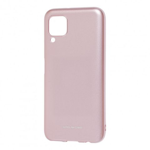 Чехол для Huawei P40 Lite Molan Cano глянец-Rose Gold