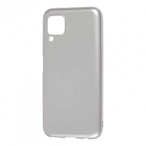 Чехол для Huawei P40 Lite Molan Cano глянец-Silver